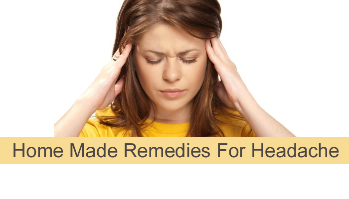 Home Made Remedies For Headache