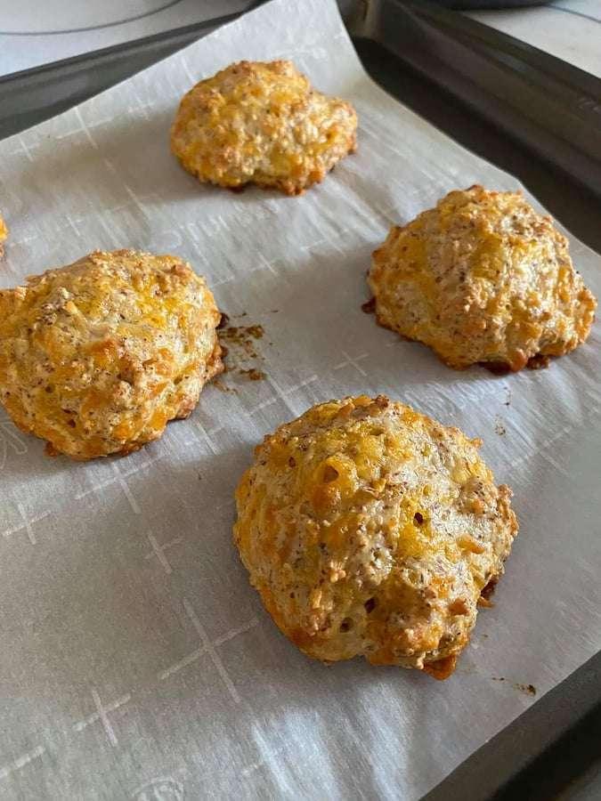 Keto Italian Hoagie Biscuits