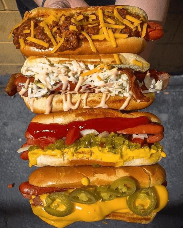 Keto hot Dogs