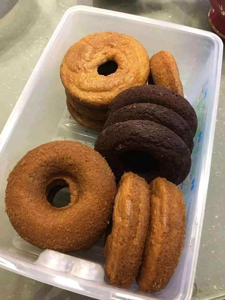 Keto Cinnamon Donut