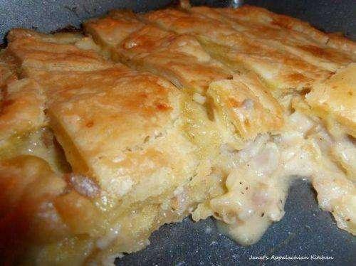 Keto Chicken Pie Recipe