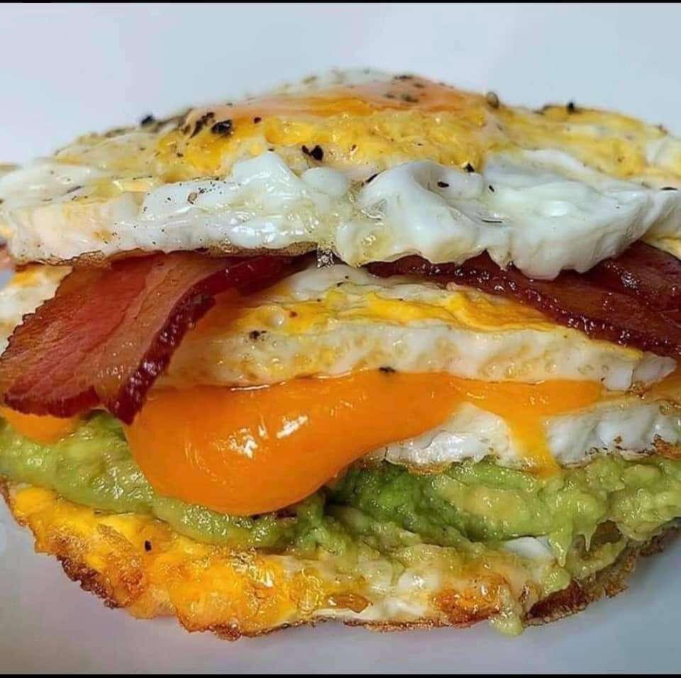 keto egg BURGER