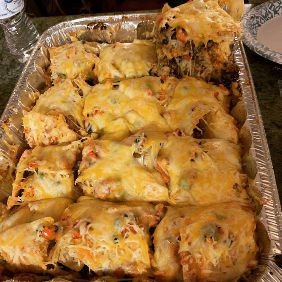 Keto Mexican Taco Lasagna