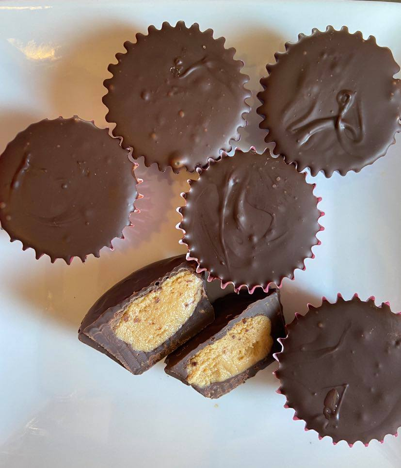 homemade peanut butter cups healthy