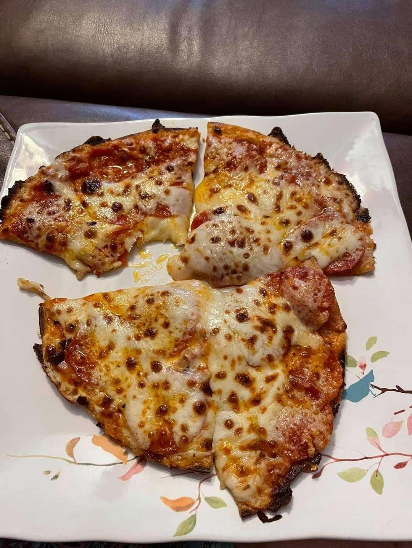 Keto Peproni Pizza