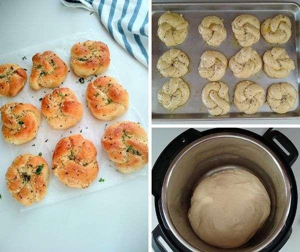 keto Garlic knots recipe