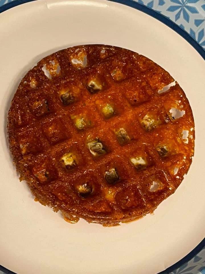 pickle chaffle