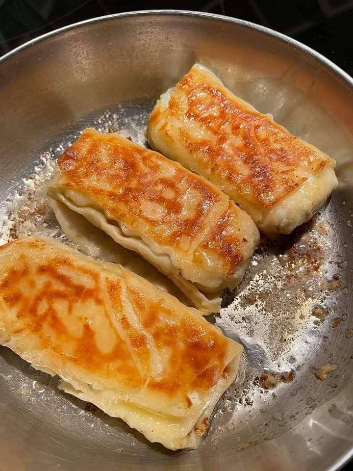 cream cheese blintz
